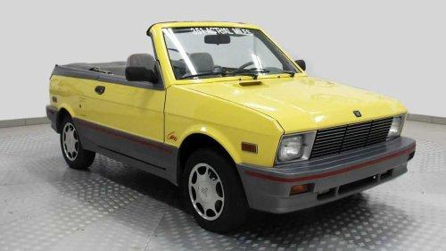 Was würden Sie für ein Yugo Cabrio mit 600 Kilometern bezahlen?