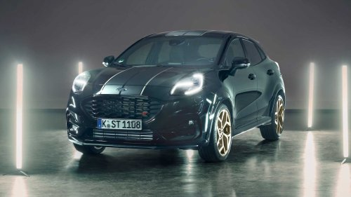 Ford Puma ST Gold Edition designed by fans revealed for Europe