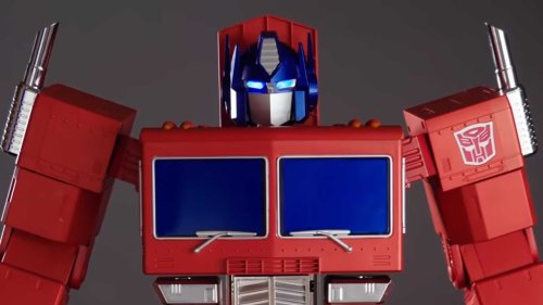 This Self-Transforming, Voice-Controlled Optimus Prime Is Beyond Epic