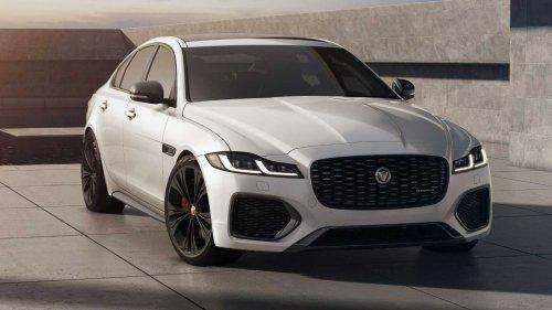 Jaguar XF gets new R-Dynamic Black trim