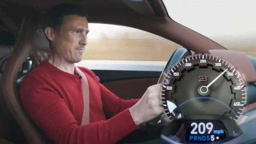 Busy Autobahn bungles Bugatti Chiron Super Sport high-speed run