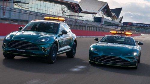 Aston Martin Perkenalkan Safety Car dan Mobil Medis Resmi F1 2021