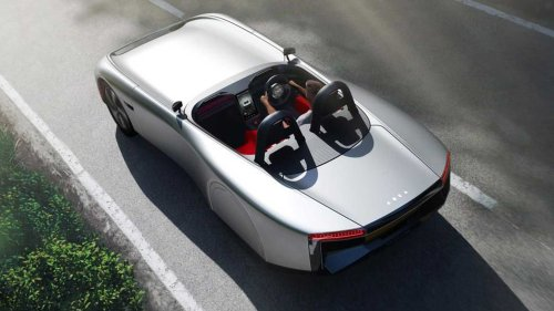 Aura Electric Sports Car Has 400 Miles Of Range, But No Roof