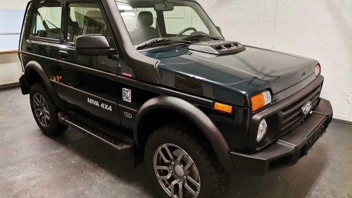 L'Allemagne assemble son premier Lada Niva Legend !