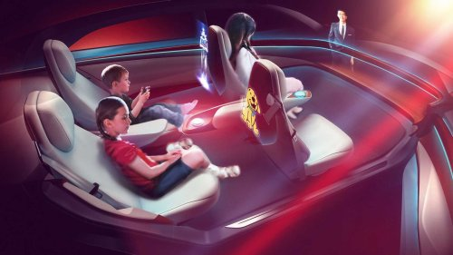 VW's future flagship Project Trinity EV is all about interior