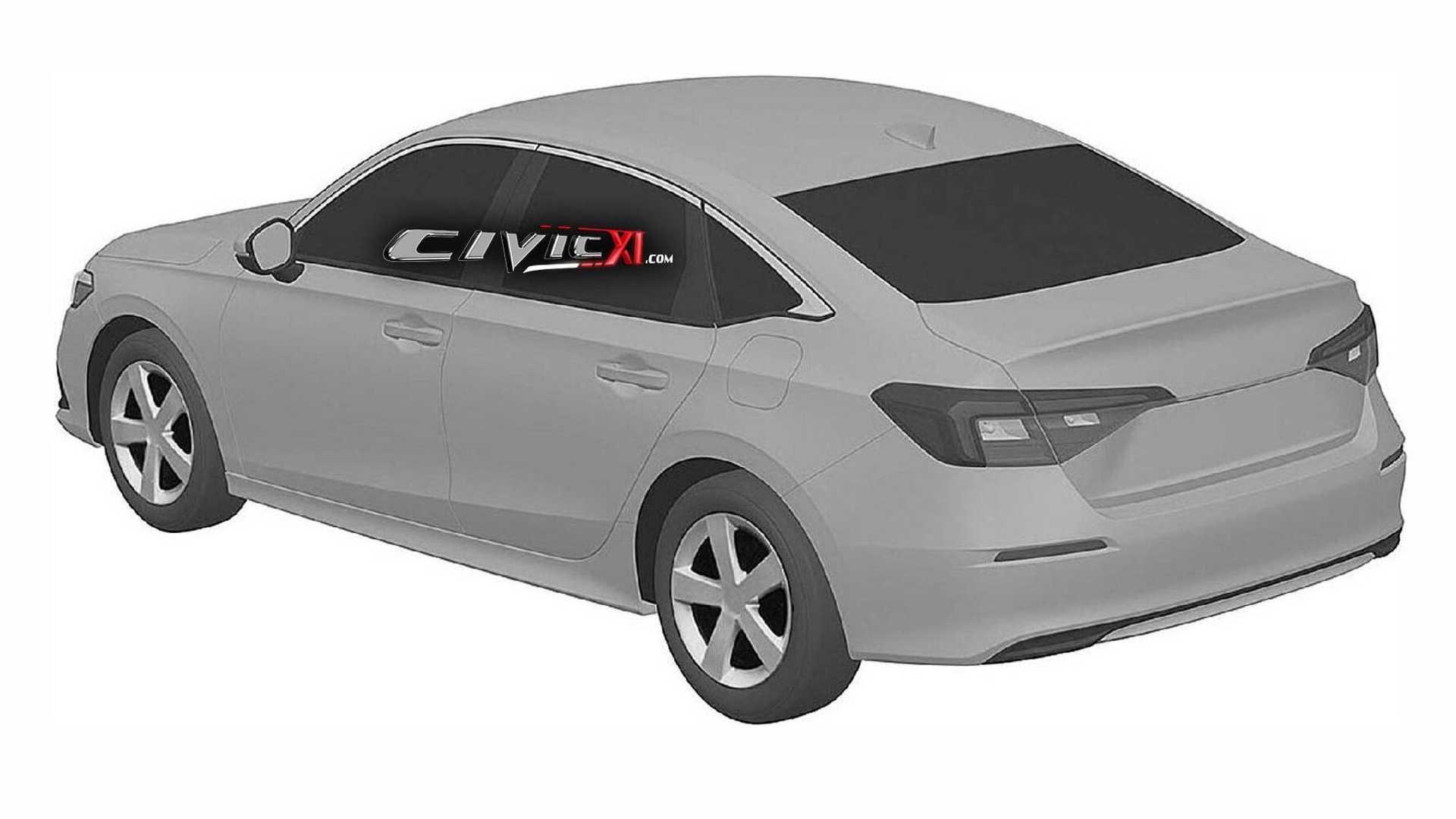 2022 Honda Civic Sedan Gets Early Reveal Via Trademark Office