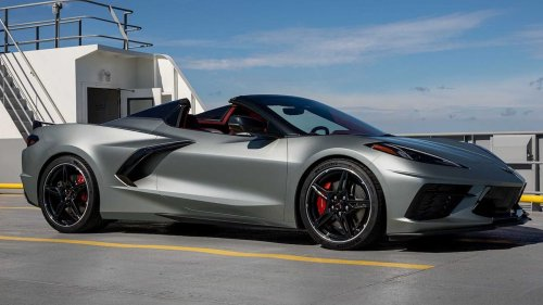 Chevy Releases More Photos Of 2022 Corvette In Three New Colors