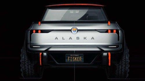 Fisker Accidentally Reveals Alaska Electric Pickup Truck