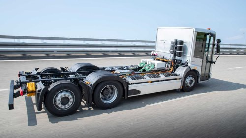 Mercedes eEconic: Elektroversion des Müll-Lasters wird erprobt