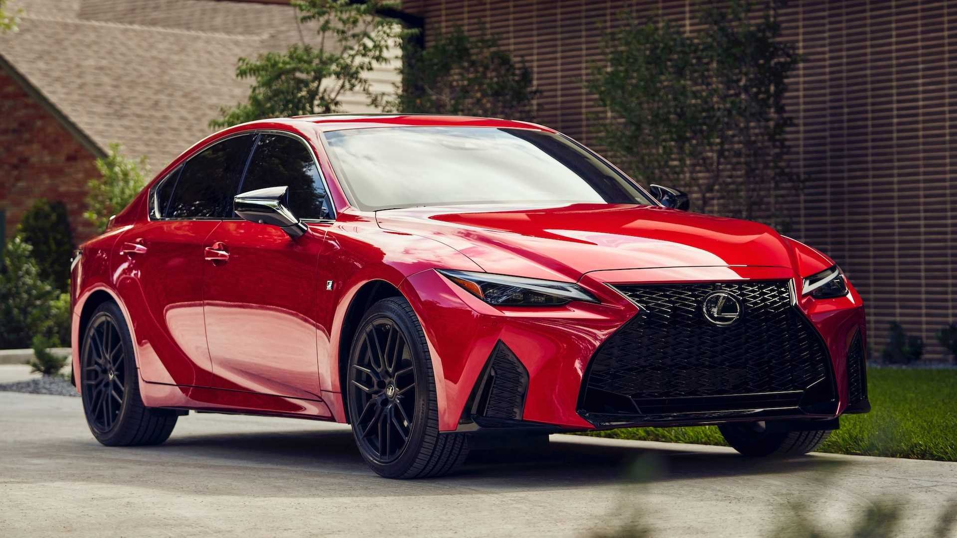 2021 Lexus IS Starts At $39,900, IS 350 F Sport Asks $42,900