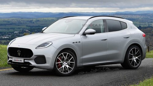 Maserati Grecale Unofficially Rendered Based On Prototype Sightings