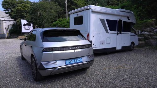 Ioniq 5 powers Hyundai Porest motorhome thanks to bidirectional charging