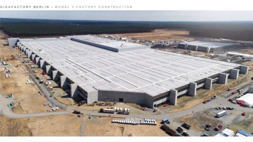 Tesla's Berlin factory is near Europe's biggest planned lithium refinery