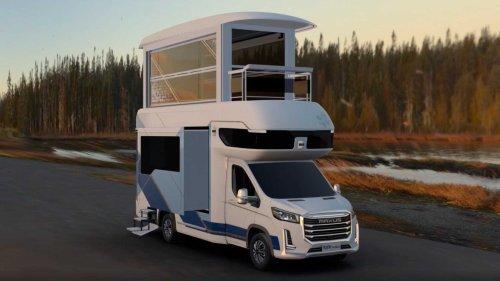 Der Maxus Life Home V90 Villa Edition ist ein Doppelstock-Camper