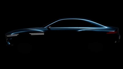 Genesis Teases Upcoming EV Again Before Shanghai Debut