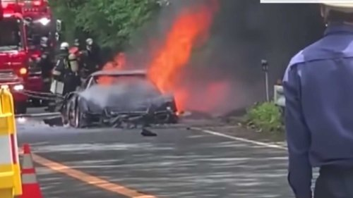 Ferrari F40 Engulfed In Flames Is The Saddest Thing You'll See Today