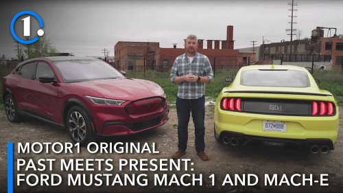Ford Mustang Mach 1 And Ford Mustang Mach-E Video: Past Meets Present