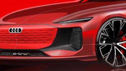 Audi E-Tron Teaser Previews New Sedan Ahead Of Shanghai Debut