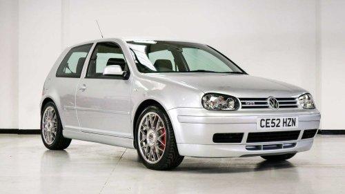 Cette VW Golf GTI 2002 en vente n'a que 13 km au compteur !