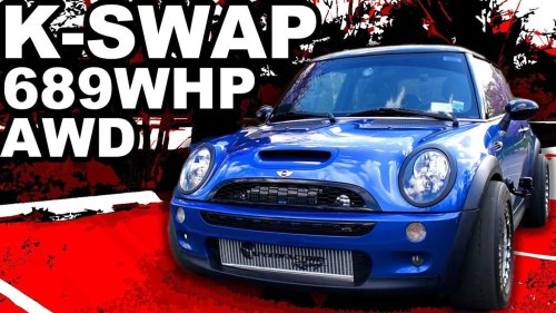 689-HP Mini With Honda Engine And CR-V AWD Loses Third Gear