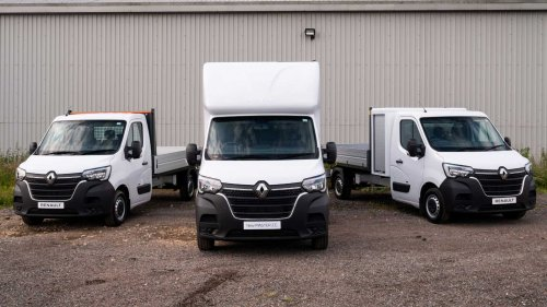 Renault adds new body conversions for electric Master E-Tech van