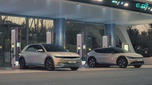 First time seen together: Hyundai Ioniq 5 and Kia EV6