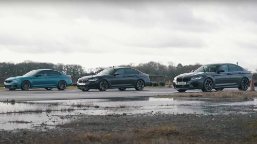Tuned BMW M5 Battles M5 Comp, M550i To See If It's Worth The Added HP