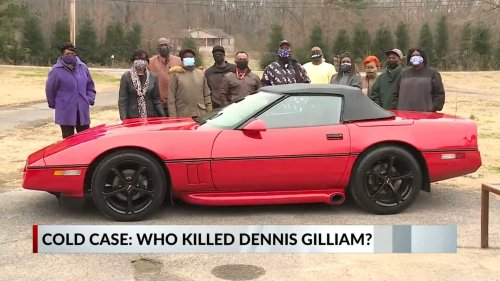 Family Offers Corvette As Reward For Information About Cold Case Murder