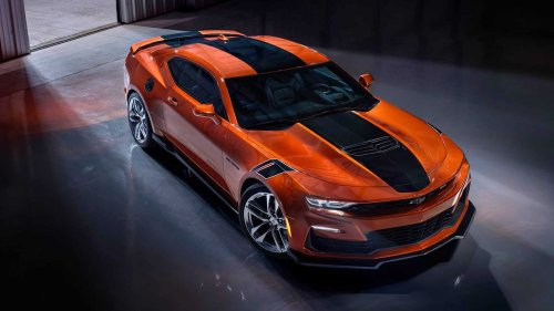 2022 Chevy Camaro Shows Striking New Vivid Orange Color In First Photo