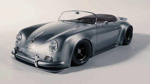 Une somptueuse Porsche 356a Speedster imaginée par The Kyza