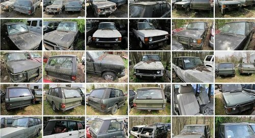 A Barn Find Horde of Vintage Range Rovers Could Be Yours For Only $73,000