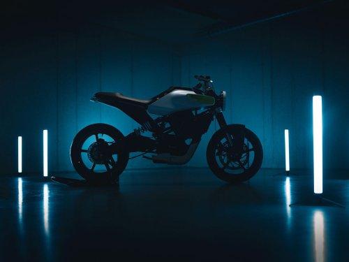 Husqvarna E-Pilen Electric Motorcycle Concept 2021