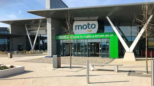 New Rugby motorway services opens with 24 EV charging points