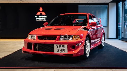 Mitsubishi Evo sells for record £100,000 at auction