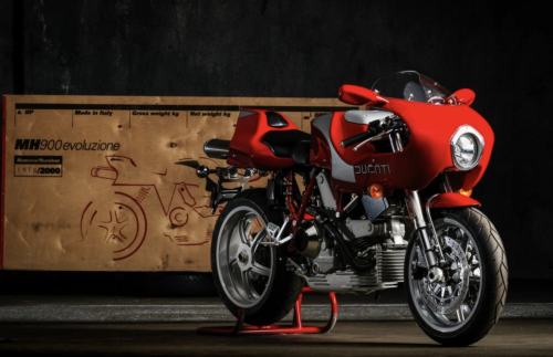 2002 Ducati MH900e: A Work Of Art That Is Meant To Be Driven