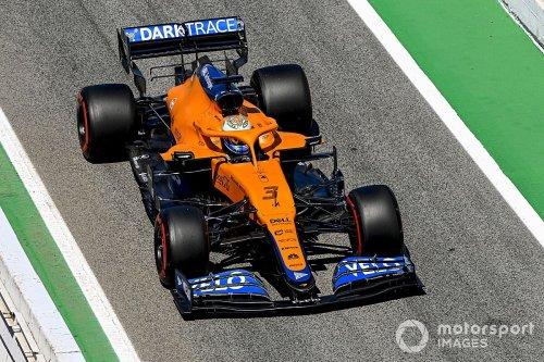 Ricciardo makes 'mini breakthrough' with his McLaren F1 car