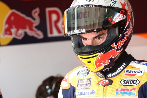 Marc Marquez 'cannot imagine' being in Rossi's current MotoGP position