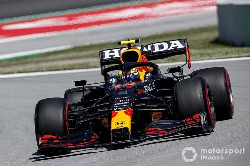 Shoulder issue hampered Perez in Barcelona F1 qualifying