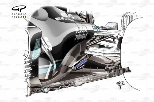 How Mercedes is trying to claw back its lost downforce in F1