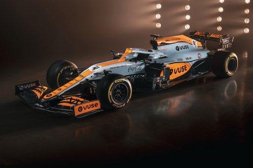 McLaren reveals special Gulf Oil F1 livery for Monaco GP
