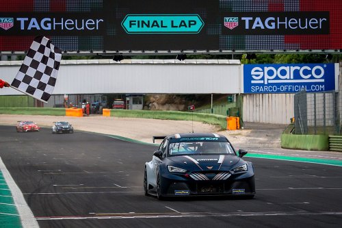 Cupra's Azcona wins inaugural Pure ETCR event