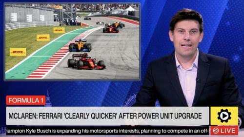 Formula 1: McLaren acknowledges Ferrari's speed after power unit upgrade - Formula 1 Videos
