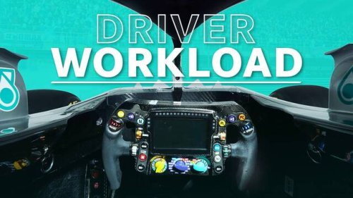 What is an F1 Driver's Workload Like During a Lap? - Formula 1 Videos