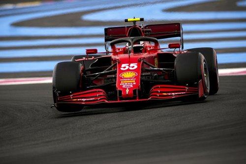 Sainz: Ferrari's F1 tyre degradation twice as bad as rivals in France