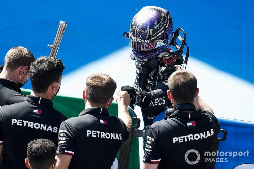 Hamilton: 100th F1 pole 'feels like one of the first'