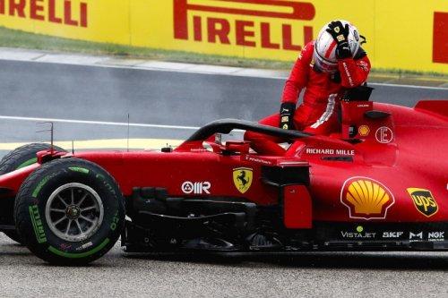 Ferrari bestätigt: Leclercs Motor nach Unfall in Ungarn nicht zu reparieren
