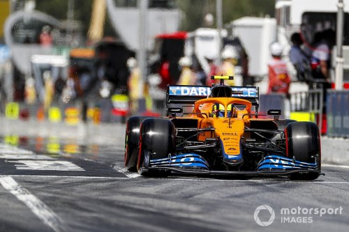 Norris: Q1 traffic 'cost me' later in Spanish GP qualifying