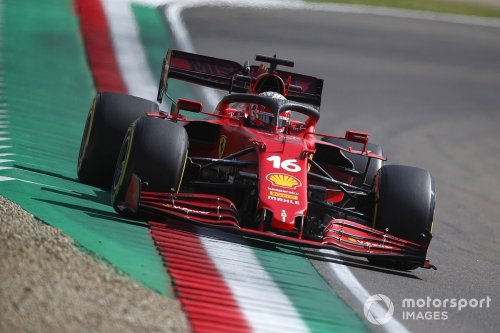 Leclerc: 'Difficult to believe' Ferrari so close to top teams at Imola