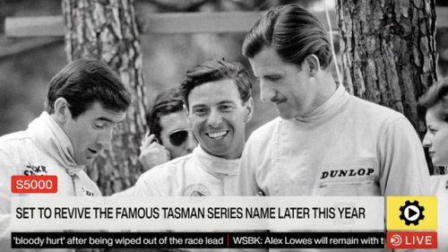 S5000 to revive the Tasman Series - Other open wheel Videos