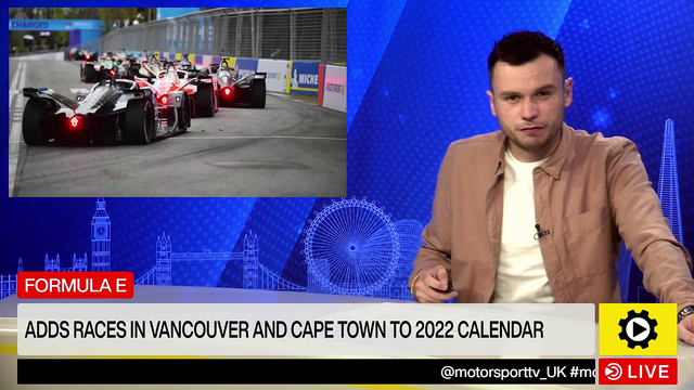 Formula E: Races in Vancouver and Cape Town added to 2022 calendar – Formula E Videos